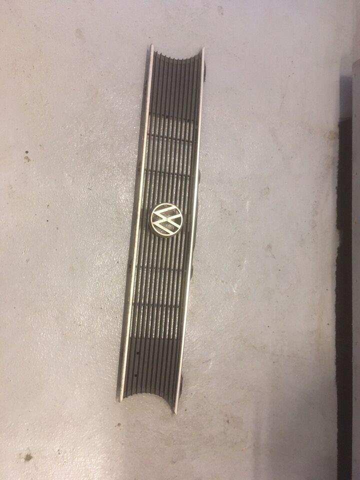 Plade- og karosseridele, Front grill, VW Golf 1