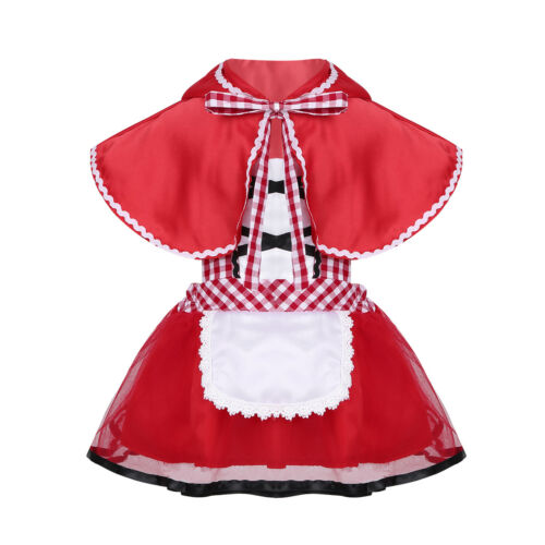 Kid Baby Girl Princess Costume Pirate Cosplay Fancy Dress Birthday Party Clothes