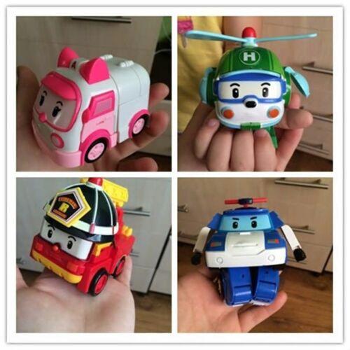 """ROBOCAR POLI /""""HELI/"""" Transforming Robot Cake Topper USA SELLER"""