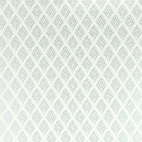 W101307-A//1 Vendu Par Rouleau Laura Ashley Florin Duck Egg Couleur Papier Peint Lot