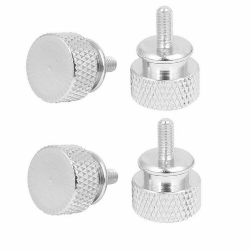 4Pcs Computer PC Case Flat Knurled Thumb Screw M3 Removal Tool 6*32MM New Hot