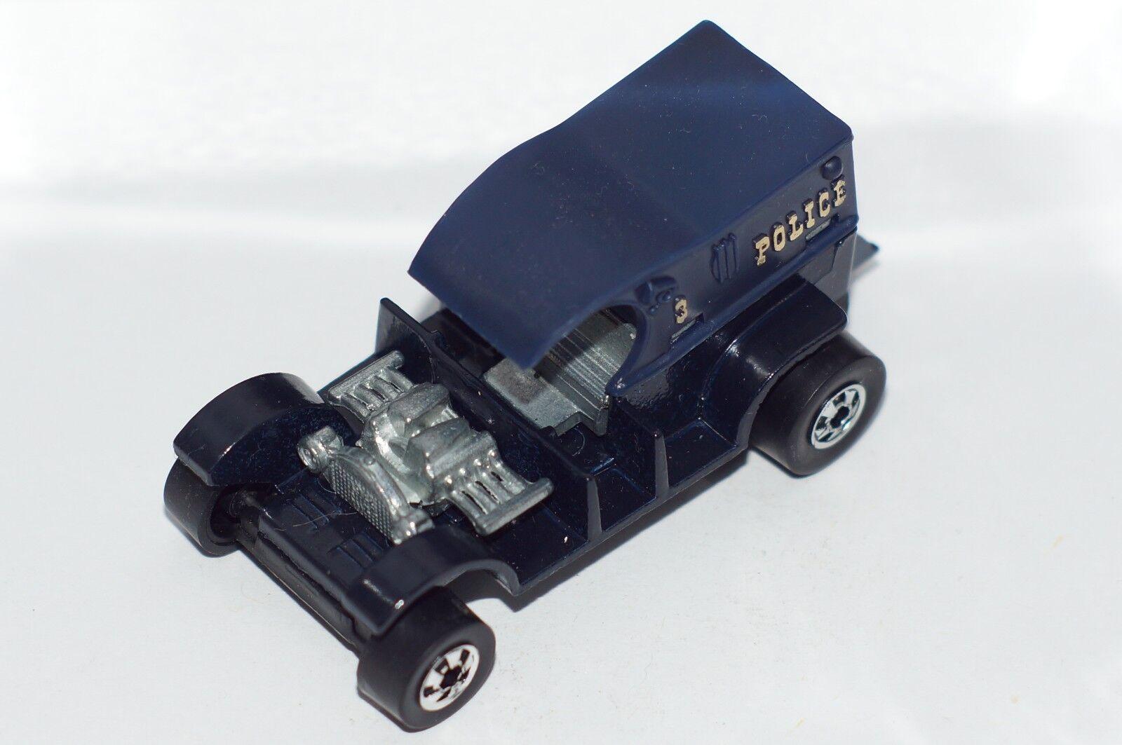 Original Hot Wheels Flying Couleurs-Paddy Wagon-Bleu-BWS-base en plastique