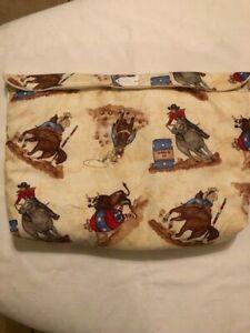 Breyer-oversize-pony-pocket-pouch-traditional-classic-custom-model-horse-fabric