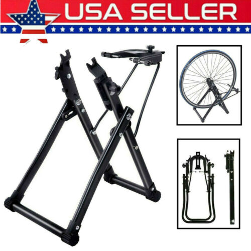 "29/"" 700C Wheels US Bike Wheel Truing Stand Bicycle Wheel Maintenance Fits 16/"""