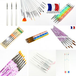 kit ongles dessin