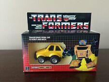 BUMBLEJUMPER PRERUB MINT G1 VINTAGE TRANSFORMER With Custom Box takara Wow