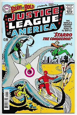Justice League America 1 Clayton Crain Brave Bold 28 Homage Virgin Set Variant