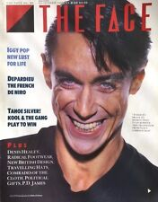 THE FACE December 1986 IGGY POP Interview GERARD DEPARDIEU Kraftwerk P.D. James
