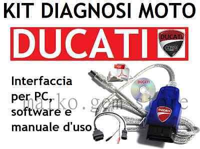 Ducati Diag MV MOTO GUZZI MORINI Diagnose Service Moster italian MotorBike OBD2+