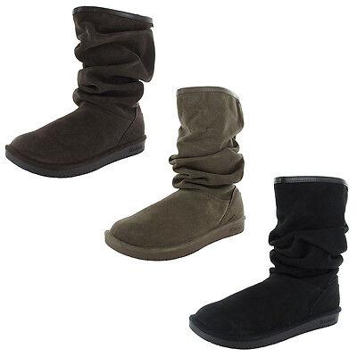 Skechers Womens Shelbys-Helsinki 48477 Slouch Snow Boot Shoe