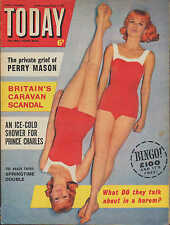 Today Magazine 7 April 1962     The Baker Twins     Roger Vadim     Sacha Distel