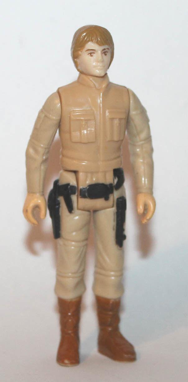 1980 Kenner Star Wars ESB Brown Eyes & Hair Variant Luke Bespin Figure
