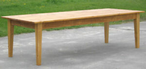 Superbe Image Is Loading 7 FOOT BARNBOARD RUSTIC FARM TABLE HARVEST TABLE