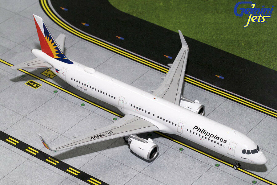 Gemini Jets Jets 1 200 Philippine Airlines Airbus A321neo RP-C9930 G2PAL788 IN STOCK
