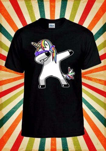 Rainbow unicorn Célébration Drôle Hommes Femmes Débardeur Tank Top Unisexe T Shirt 2199