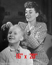 "Joan Crawford~Daughter~Hair Salon~Spa~Beauty Salon~Photo~Decor~Stylist~16""x20"""