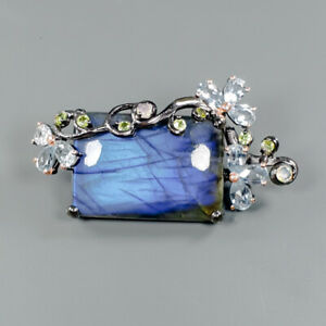 Fine-Art35ct-Natural-Labradorite-925-Sterling-Silver-Brooch-NB05791