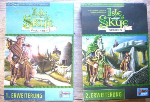 ISLE OF SKYE Spiel DRUIDEN ODER WANDERER +ovp+ ERWEITERUNGEN