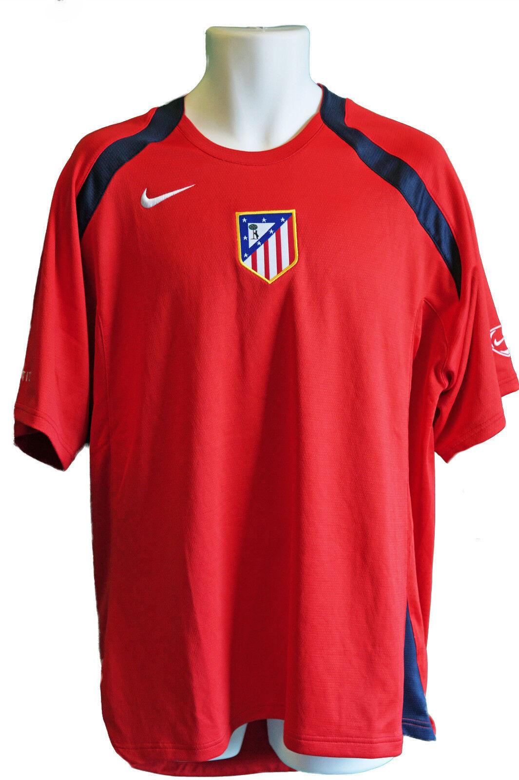 Nike Athletico Madrid Jugarer Issue Entrenamiento  Fútbol Pre Match Camisa Roja  en promociones de estadios
