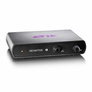 Avid HD Native Thunderbolt With Pro Tools Hd10 11 12 Software License And ILok 2