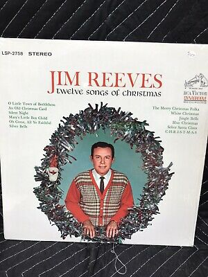 JIM REEVES * (12) Twelve Songs of Christmas * NEW CD * Original RCA CD (1963) 755174656521 | eBay
