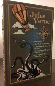 Jules Verne Four Novels Leather Bound Book Hardback Ebay