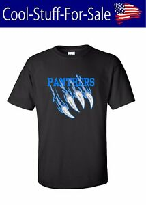Image is loading Carolina-Panthers-Claw-Scratch-Football-T-Shirt 35e28765f3aa