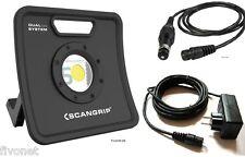 Scangrip NOVA 5K C+R Pila COB LED Lámpara Proyector Luz de inundación outdoor