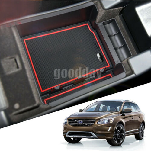 Armrest Storage Box For For Volvo XC60 S60 S60L V60 Central Console Organizer