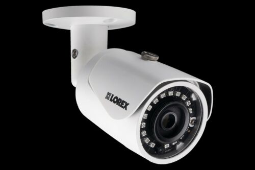 Lorex LNB4173SB 4MP 2K IP Bullet Camera with color night vision 100ft cable lot