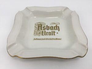 Germany-Heinrich-Ashtray-Ash-Tray-Asbach-Uralt-Vintage-4-Slot-Cigarette-Holder