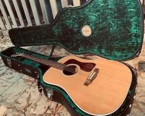 Acoustic Guild D-40 Natural Dreadnought USA Used Excellent Condition
