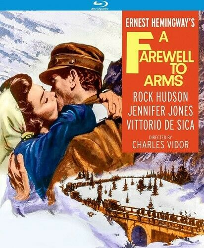 A Farewell to Arms (1957 Rock Hudson) BLU-RAY NEW