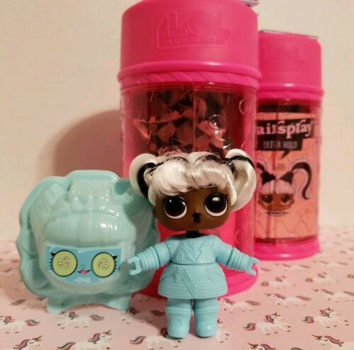 LOL Surprise Hair Goals Hair Spray Series *Yang Q.T.*with HairSpray Can New!