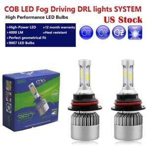 Image Is Loading 2Pcs H13 Bulbs 72W COB Fog Light 9008