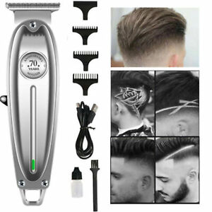 For-Kemei-Pro-Hair-Clipper-Metal-Men-Electric-Cordless-Hair-Trimmer-0mm-T-Blade