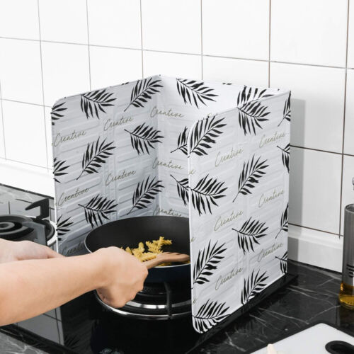 Kitchen Cooking Frying Pan Anti Splatter Shield Guard Oil Splash Screen Cover