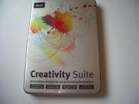 Creativity Suite - Photoplus, Drawplus, Pageplus, Webplus 4 Vollvers Pc Neu