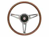 1967 - 1973 Ford Mustang Shelby Style Steering Wheel Kit With Gt-500 Emblem