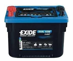 Exide EP450 Dual AGM MAXXIMA