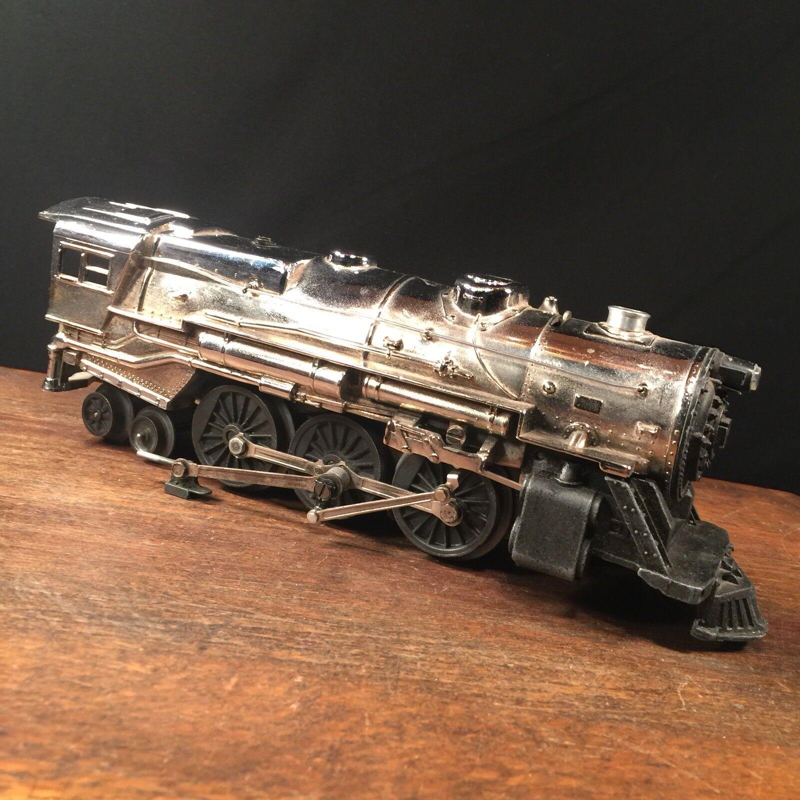 Vintage Lionel Train Locomotive Engine USA 1950s Chrome Plated PRIORITY MAIL