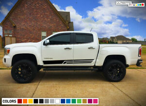 Door side Decal Sticker For GMC Canyon Mirror 2016 2017 2018 2019 off road Vinyl