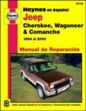 Jeep Cherokee, Wagoneer & Comanche 1984 al 2000 (Manual de Reparacion) (Spanish