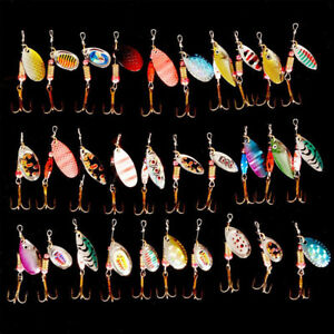 Lot-30pcs-Kinds-of-Fishing-Lures-Crankbaits-Hooks-Spinner-Baits-Assorted-Tackle