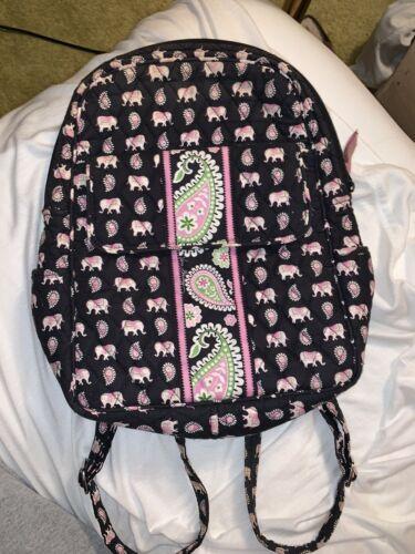 vera Bradley Pink Elephants Backpack