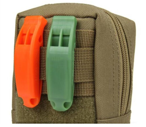 Safety Emergency Whistle For Outdoor Camping Hiking Boating Survival Distress RS