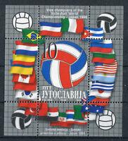 Jugoslawien Block 48 postfrisch 2895 Volleyball WM Japan 1998 MNH