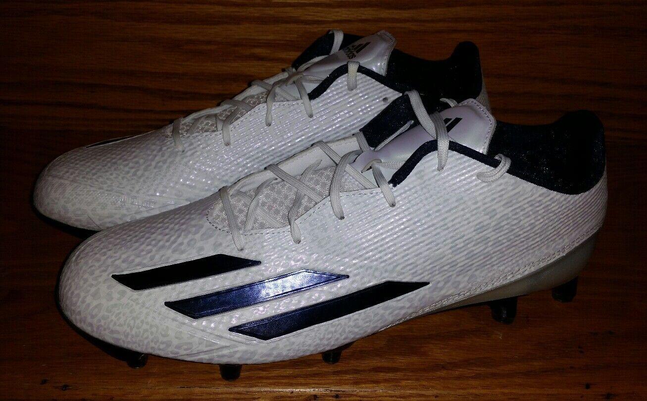 Adidas adizero 5 star 5.0 fußball stollen aq 7.381 männer neue uns 11,5 weißen marine neue männer 92e7a4