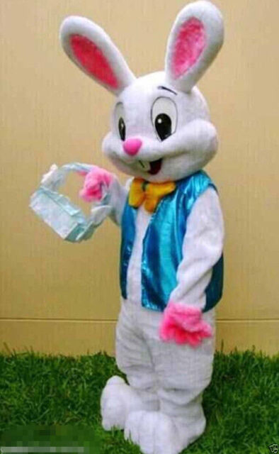 Blue Baby Rabbit Child Fancy Dress Kids Easter Bunny Animal Costume 0-18 Months