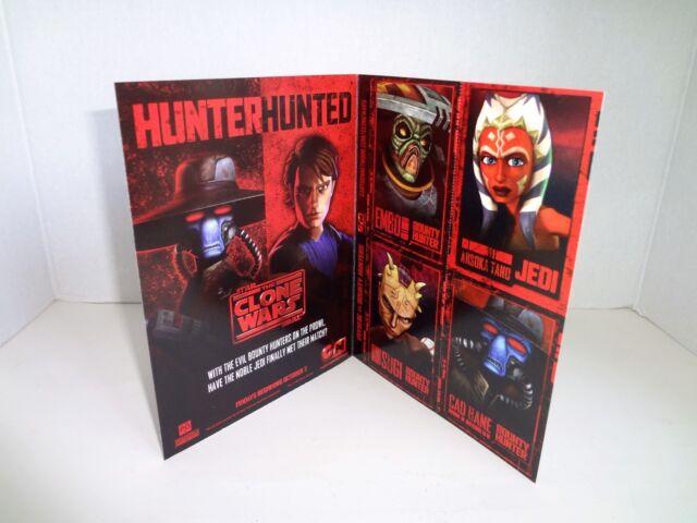Star Wars The Clone Wars Season 2 Hobby Box 2010 Rise of the Bounty Hunters